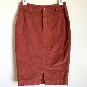 Free People Womens Skirt Rosemary Pencil Size 26